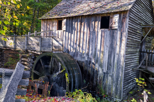 Working Gristmill in Cade's Cove