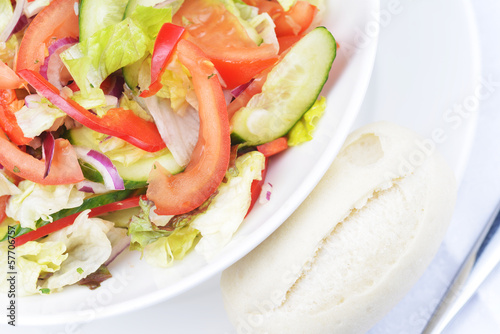 salad of fresh vegetable