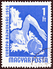 Water polo player (Hungary 1958)