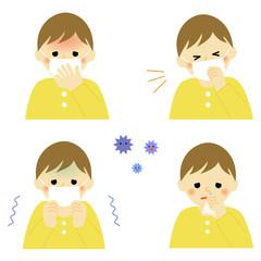 風邪の症状 こども / symptom of cold