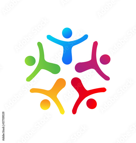 People union icon vector