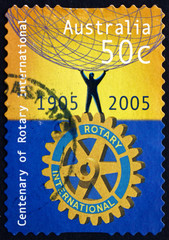 Postage stamp Australia 2005 Rotary International