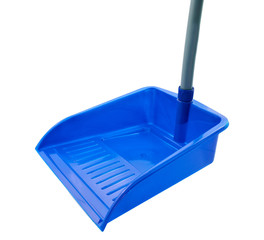 Dustpan isolated on white background
