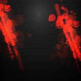 metal background with blood splatters