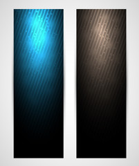 vertical abstract web banners