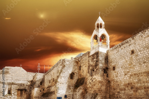 Fotobehang Midden Oosten Bethlehem Basilica of the Nativity