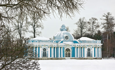 Grotto pavilion, Catherine park, Tsarskoe Selo, Russia