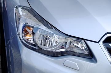Headlight closeup