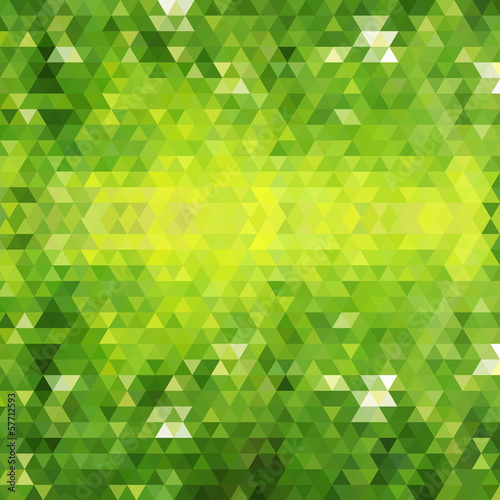 Geometric pattern. Retro triangle background. EPS 10