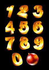 Set of golden numbers