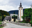 Chapel at Bohinj lake