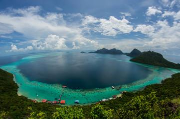 The Bohey Dulang View