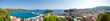 Leinwandbild Motiv Tropical island panorama view