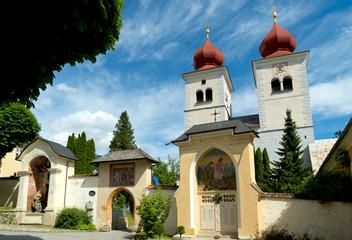 church in millstatt, austria