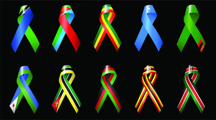 Africa Ribbons 2