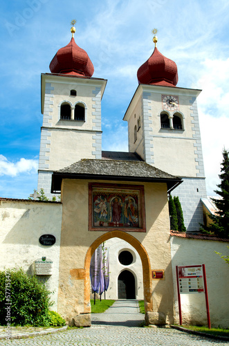 church in millstatt, austria