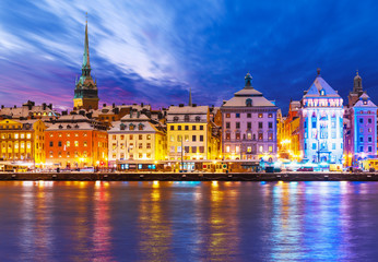 Christmas and New Year in Stockholm, Sweden