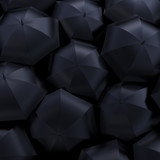 umbrellas, beautiful 3d background