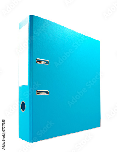 Office folder isolated on white background