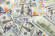Random Angled Layer of the New One Hundred Dollar Bill
