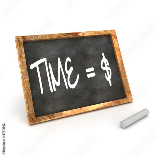 Blackboard Time=Money