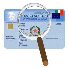 Carta regionale/nazionale dei servizi