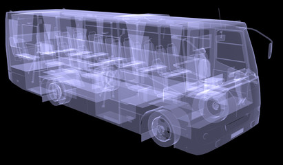 Big bus. X-ray