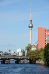 Spree river, Berlin