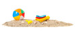 Beach ball,towels and toys - 57720107