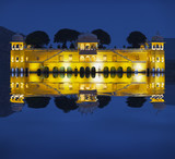Water Palace at night - Jal Mahal Rajasthan, Jaipur, India