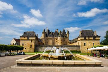 Castle JUMILHAC LE GRAND in France