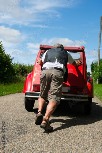 Car breakdown in France