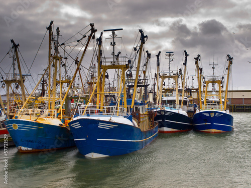 modern fishing fleet