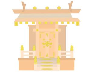 一社造りの神棚