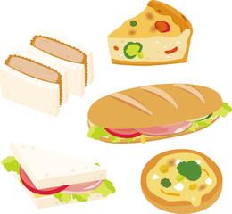 サンドイッチと惣菜パン