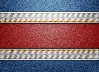 Denim Costa Rica flag