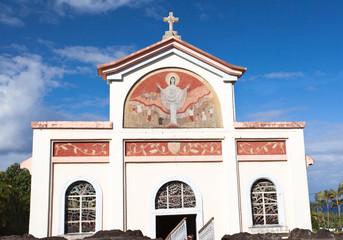 église de Notre-Dame des laves, île de la Réunion