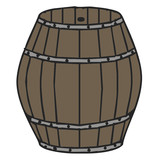 barrel vector illustration
