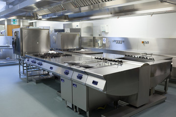 Picture of restaurant kitchen