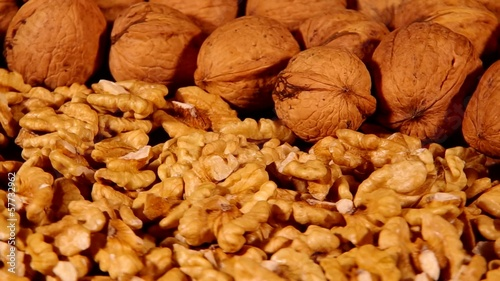 Walnuts are spinning on board