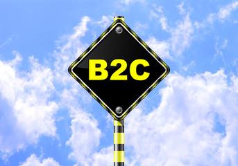B2C ROAD SIGN