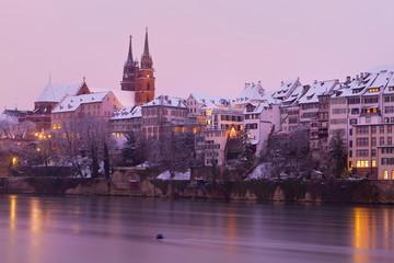 Basel am Abend