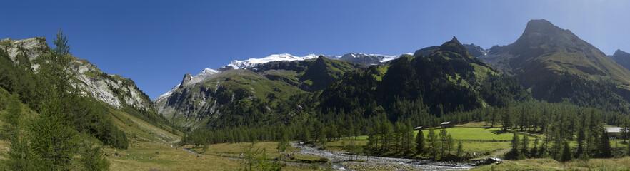 Austrian Alpine Panorama