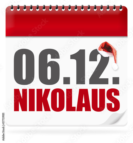 Nikolaus! Button, Icon