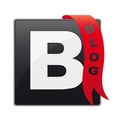 Blog icon\button