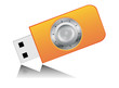 Data Protection Icon - USB