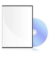 DVD disk with a blank cover