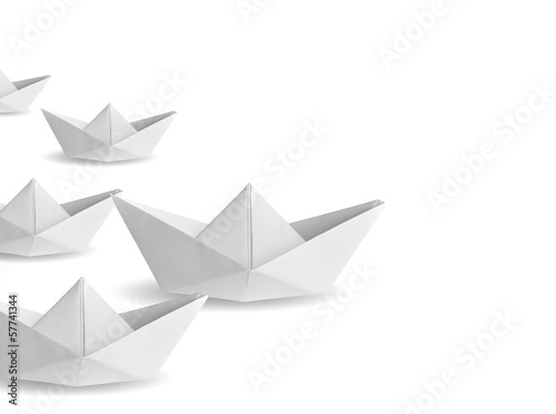 winner paper ship - 57741344