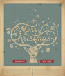 Christmas handwritten typography