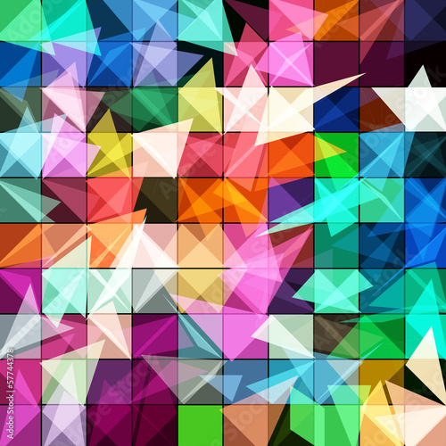 artistic and geometric abstract background